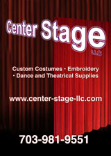 Center Stage Theatrical Costumes, Occoquan, Virginia, call 703-981-9551